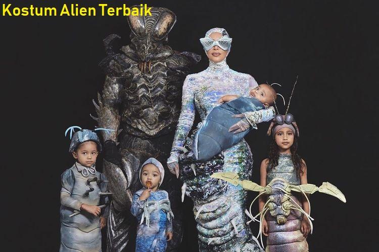 Kostum Alien Terbaik